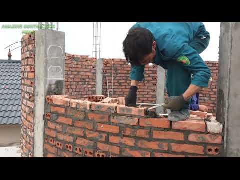 Инновационные строительные технологии из удивительного кирпича и раствора - красивые круглые дома