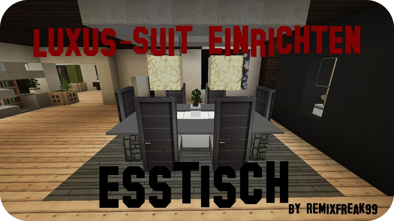 minecraft luxus haus einrichten part 5 jannis gerzen. Black Bedroom Furniture Sets. Home Design Ideas