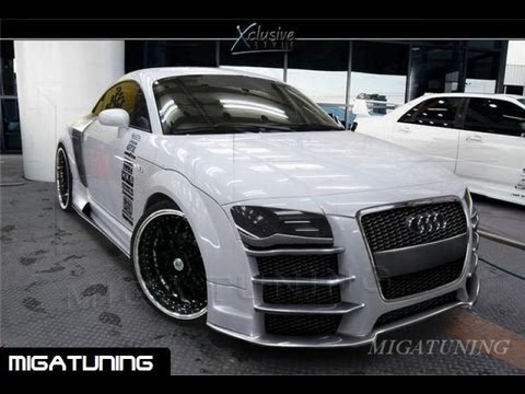 audi tt tuning body kits youtube. Black Bedroom Furniture Sets. Home Design Ideas