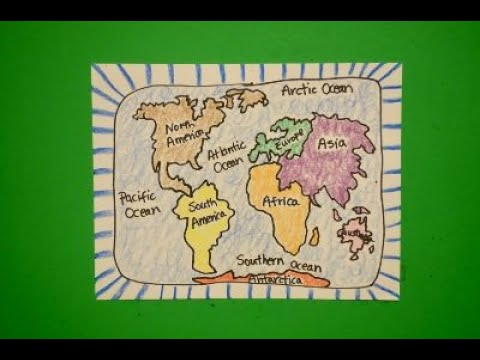 Let's Draw Continents & Oceans!