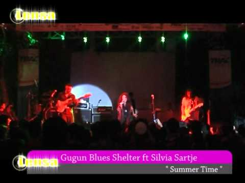 FESTIVAL BAND KAJOETANGAN#3 Present Sylvia Sartje & Gugun Blues Shelter Colaboration