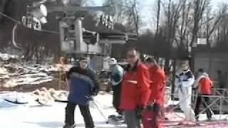 Обучение катанию на сноуборде. Часть 5