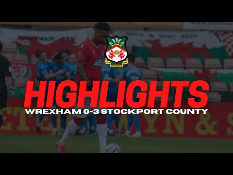 Wrexham Stockport Goals And Highlights
