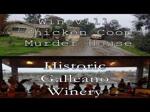 Wineville Chicken Coop Murder House and Galleano Winery