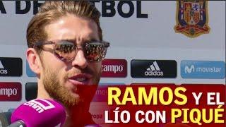 Sergio Ramos y Piqué: de enemigo a amigo. | Diario AS