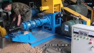 machine de moulin de granule d'alimentation de poissons flottants