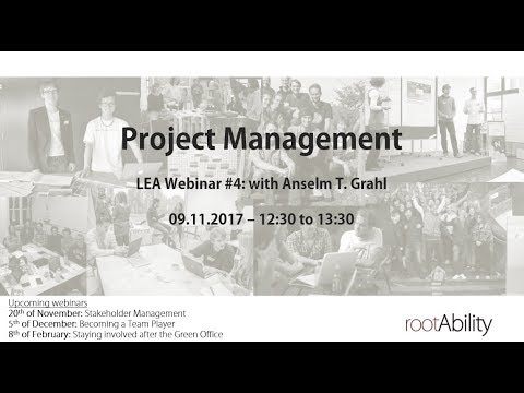 Project Management - by Anselm T. Grahl