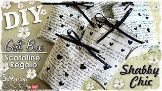 Tutorial: Scatoline con i Rotoli della Carta Igienica |Riciclo Creativo| DIY Vintage Gift Box