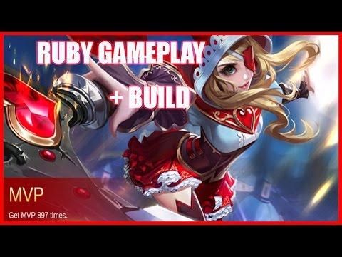 Mobile Legends: Ruby Best Build + Gameplay | Easy MVP