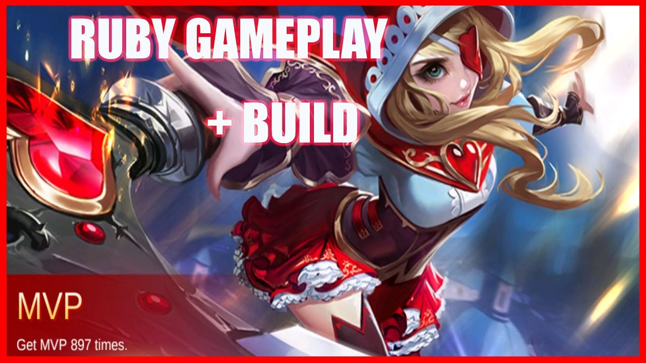 Mobile Legends Ruby Best Build Gameplay Easy MVP