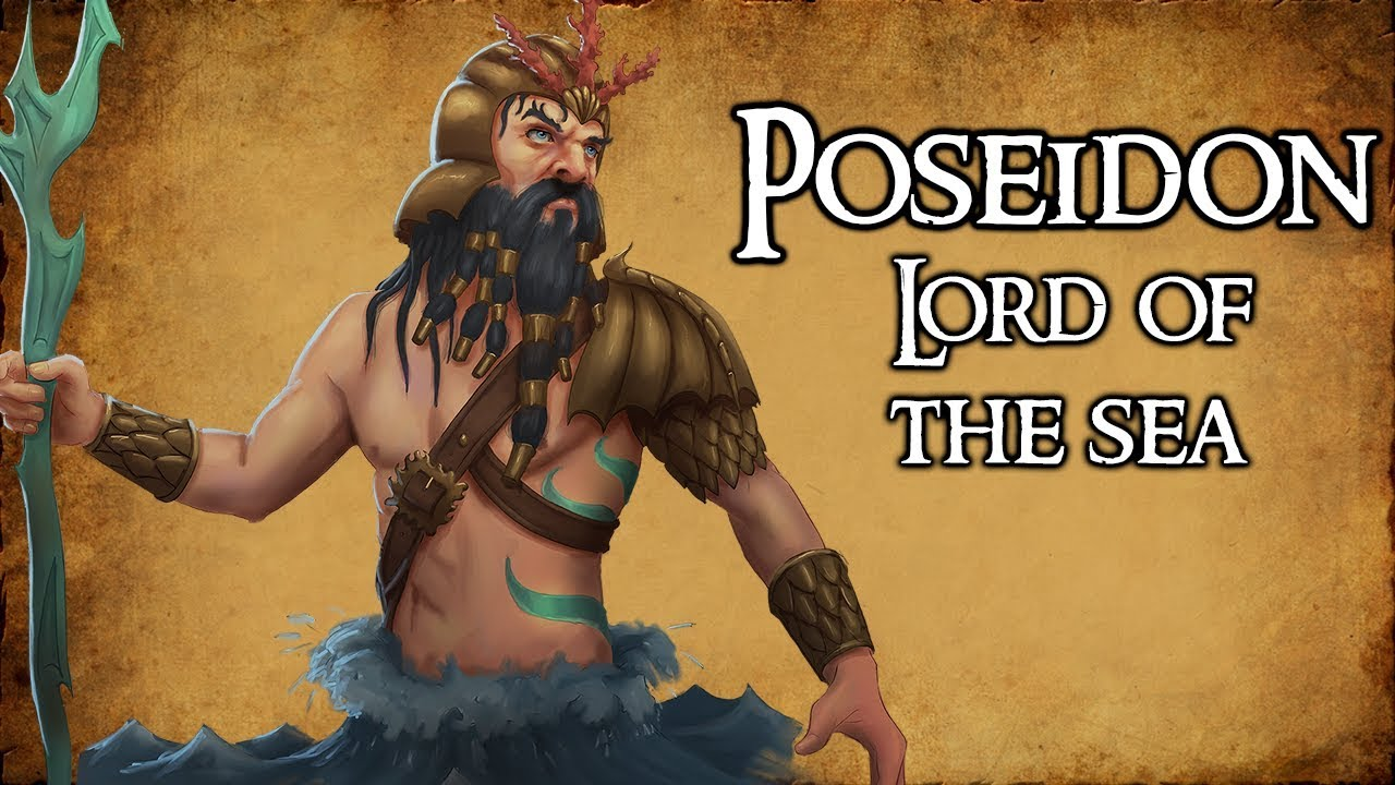 Download Poseidon: Lord of the Sea - (Greek Mythology Explained)