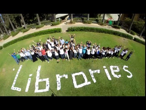 American University Of Beirut - Library Open Day 2015 Team Building Exercise