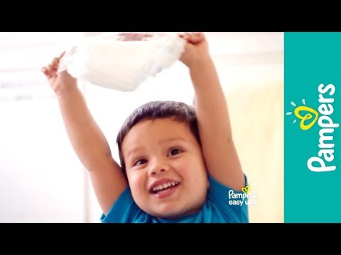 Potty Training Underwear For Toddlers | Pampers Easy Ups