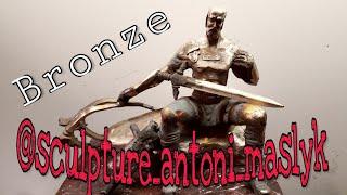 Обзор ????Привез две Бронзовые ????Скульптуры???? После Сварки ????Two Bronze Sculptures After Welding????