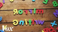 Why kids write letters backward