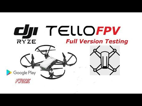 TelloFPV APP Full Version Testing / Best App for the Ryze Tello