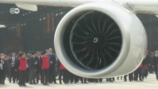 الصين تؤسس مصنعا لصنع محركات الطائرات المدنية | الأخبار