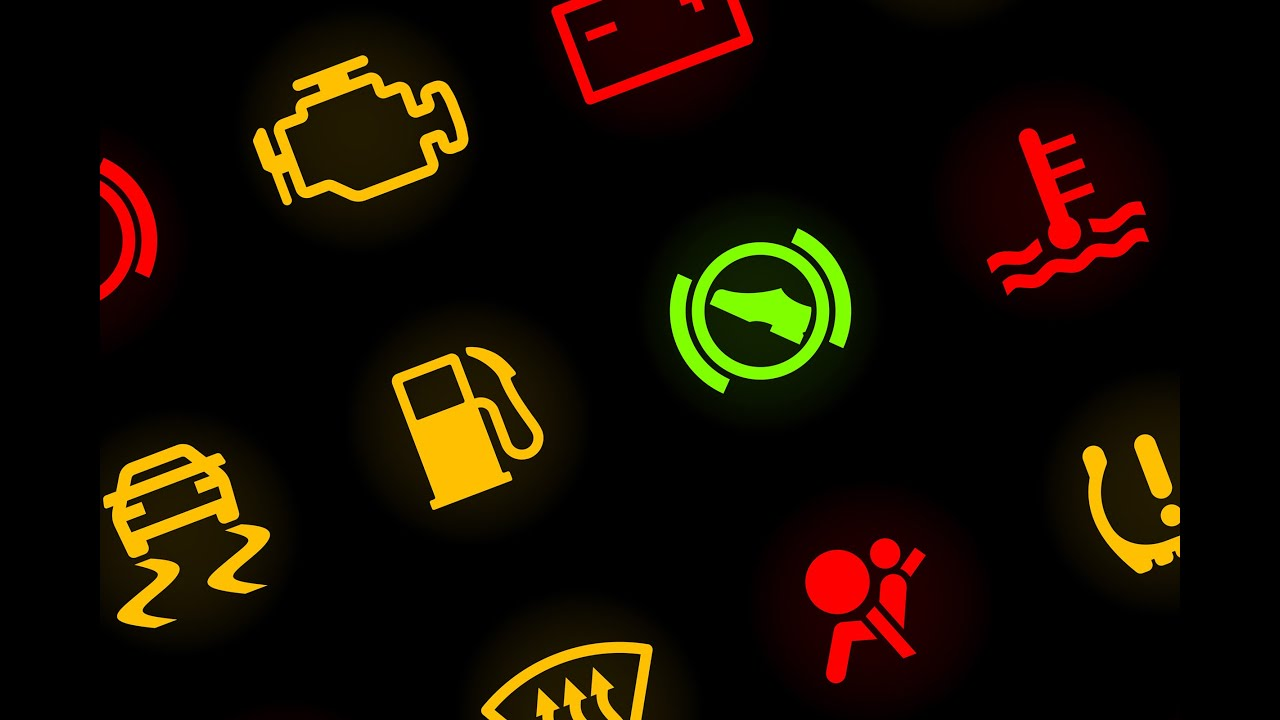 Car warning lights guide