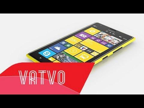Trên tay Lumia 1520 vàng