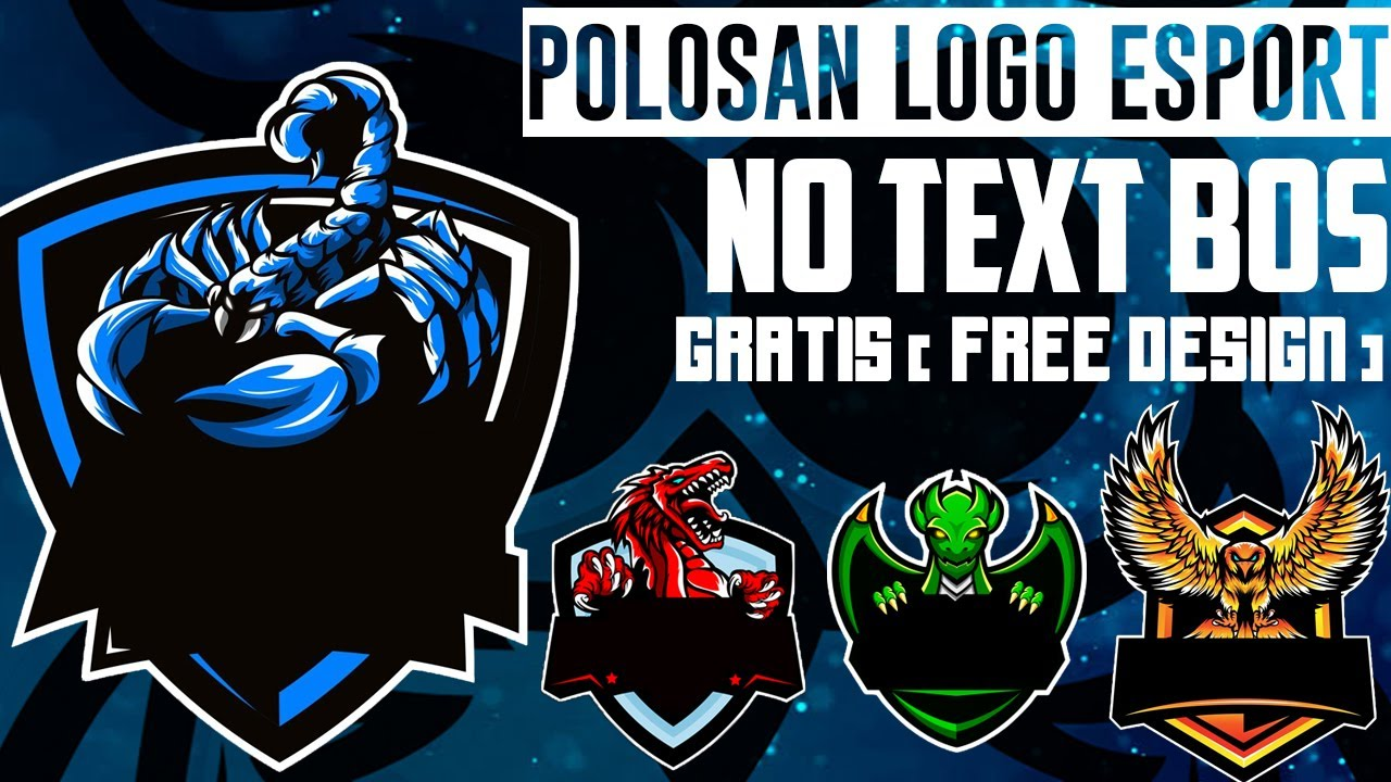 Polosan Logo Esport Gaming Keren