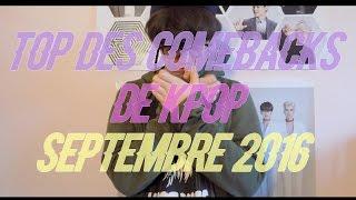 Comeback Kpop Septembre 2016 - Matt