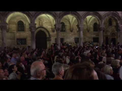 Klapa Šufit - Ne diraj moju ljubav (Dubrovnik, 11. 8. 2016)