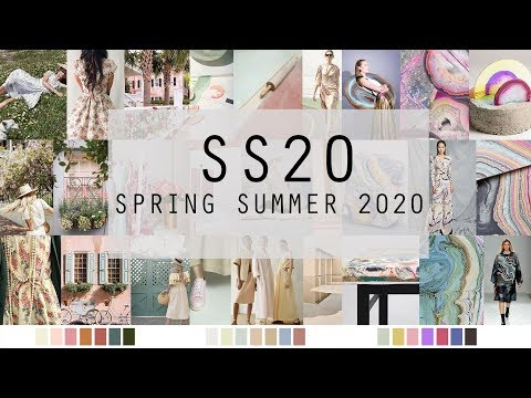 SPRING SUMMER 2020 FASHION TRENDS & COLOURS