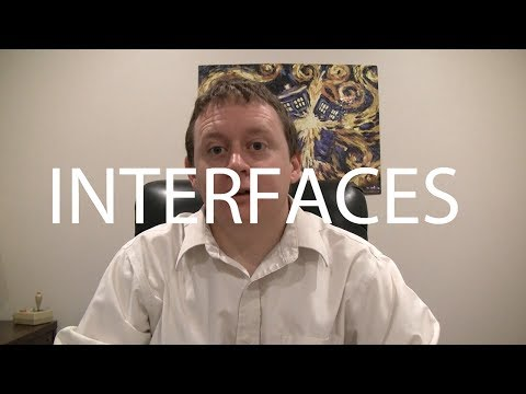 Fundamental concepts: What's an Interface?