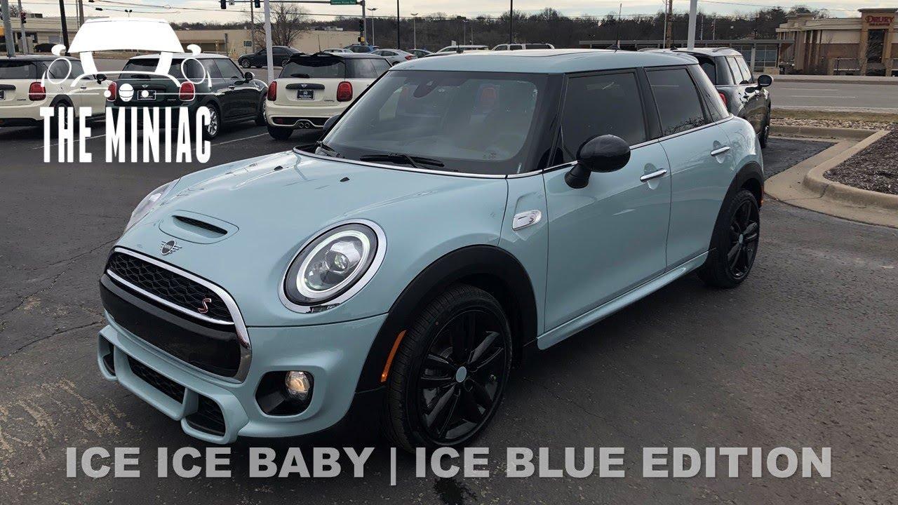 Ice Blue Mini Cooper >> 2019 Mini Cooper S 4 Door Ice Blue Edition
