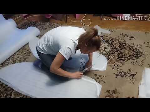 Как сшить крылья лебедя