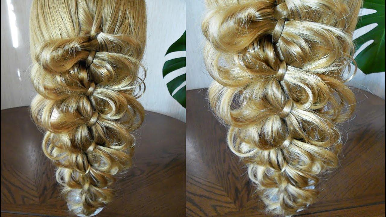 плетение кос схемы видео