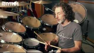 Simon Phillips drum lesson: open-handed playing