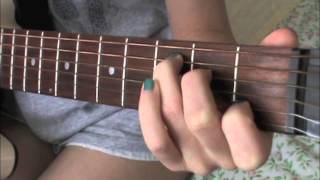 Easy Guitar  Tutorial For SAFE AND SOUND By Capital Cities!!!!