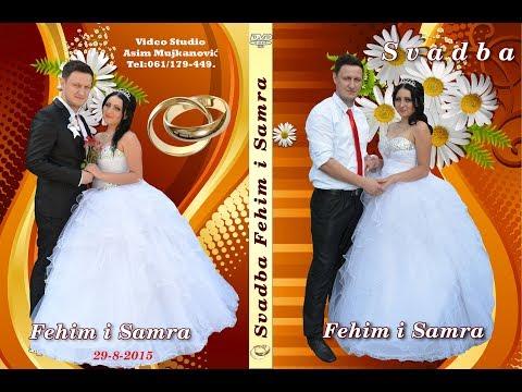 Svadba Samra i Fehim (1) dio 29 8 Muz-Mirsada i Jarani  Lukavica Zelenika Asim Snimatelj