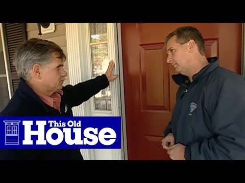 How to Repair a Split Door Jamb - This Old House - YouTube