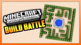 CRAZY MAZE! - BUILD BATTLE - Minecraft PE (Pocket Edition)