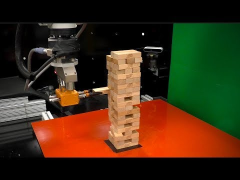 This robot plays Jenga to demonstrate the future of manufacturing