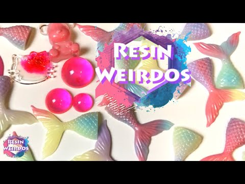 Cheapest pigments on EBay?! But how good are they? Watch Me Resin - Adorable Mermaid/Man tails
