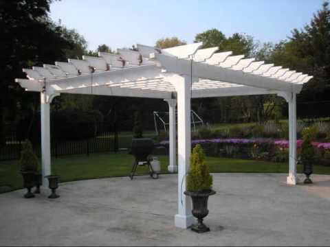 pergola ou tonnelle pour jardin youtube. Black Bedroom Furniture Sets. Home Design Ideas