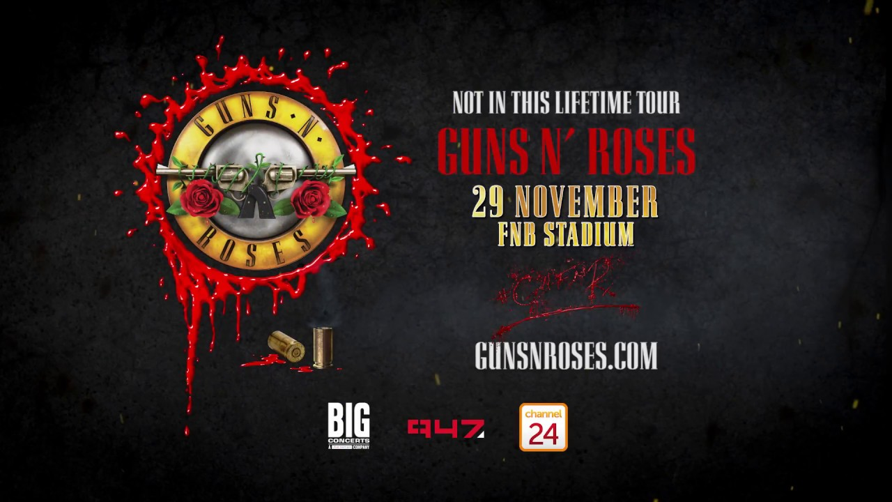 Guns N Roses Are Coming To South Africa In Nov 2018 Youtube