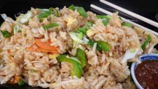 Vegetable Fried Rice - Indian Chinese Recipe