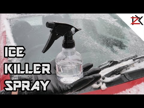 How To Make A Homemade De-Icer Spray/DeFrost Your Car | Cheap With Results