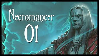 Diablo 3 Necromancer Class Gameplay Part 1 (Let