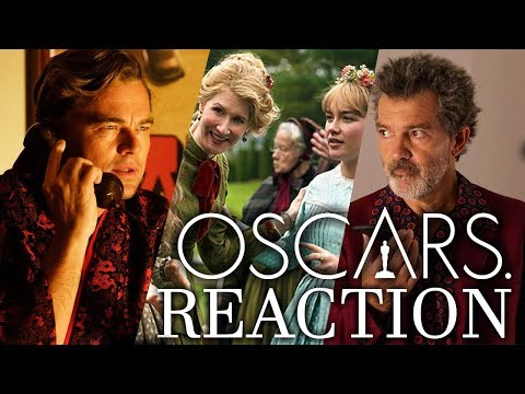 Oscar Nominations 2020 REACTION - Once Upon a Time, Little Women & BIG SNUBS!