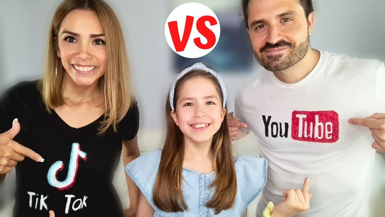 Youtubeurs vs TikTokeurs 😂😅 // KIARA PARIS 🌷