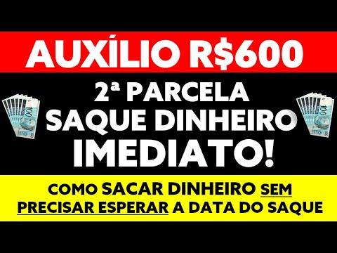 IMEDIATO! COMO SACAR DINHEIRO AUXÍLIO EMERGENCIAL 600? SEM PRECISAR ESPERAR CALENDÁRIO DE SAQUE