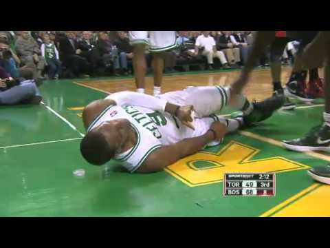 2011-12 Boston Celtics VS Toronto Raptors (Rondo Injured)
