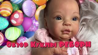 Обложка на видео о НОВАЯ КУКЛА РЕБОРН ДЕВОЧКА . ОБЗОР КУКЛЫ РЕБОРН .