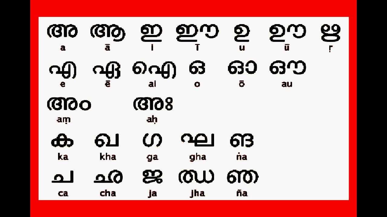 √ Printable Hindi Alphabet Chart
