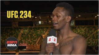 Israel Adesanya joins Jon Anik to discuss his win by unanimous decision against Anderson Silva. Adesanya discusses not falling for Silva's mind games and what's next for him and the middleweight division after Robert Whittaker had to pull out of his title fight against Kelvin Gastelum.  ✔ Subscribe to ESPN on YouTube: http://es.pn/SUBSCRIBEtoYOUTUBE ✔ Subscribe to ESPN FC on YouTube: http://bit.ly/SUBSCRIBEtoESPNFC ✔ Subscribe to NBA on ESPN on YouTube: http://bit.ly/SUBSCRIBEtoNBAonESPN ✔ Watch ESPN on YouTube TV: http://es.pn/YouTubeTV  ESPN on Social Media: ► Follow on Twitter: http://www.twitter.com/espn ► Like on Facebook: http://www.facebook.com/espn ► Follow on Instagram: http://www.instagram.com/espn  Visit ESPN on YouTube to get up-to-the-minute sports news coverage, scores, highlights and commentary for NFL, NHL, MLB, NBA, College Football, NCAA Basketball, soccer and more.   More on ESPN.com: http://www.espn.com